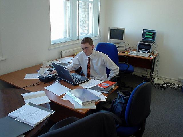 Bild von einem Büro