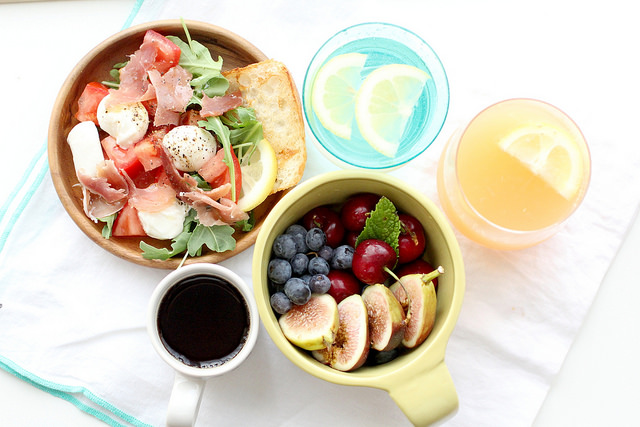 Foto von gesundem Essen