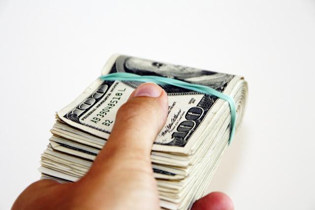Geldschein-Bündel