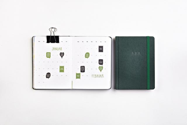 Papier Kalender