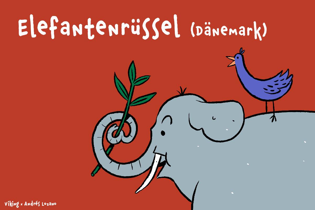 Dänemark - Elefantenrussel
