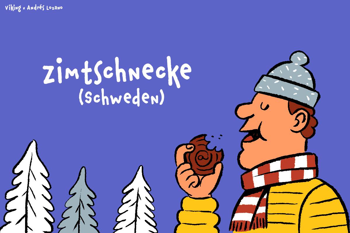 Schweden - Zimtschnecke