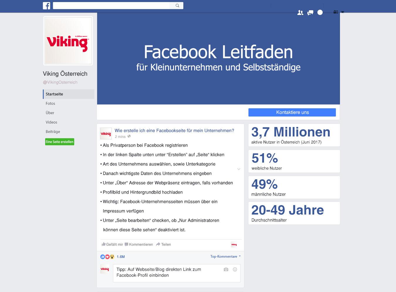 So holen Sie das Beste aus Facebook heraus - Viking AT