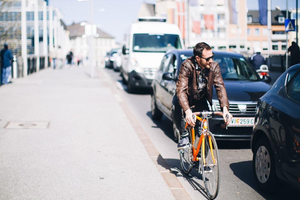 Alt: Fahrradfahrer