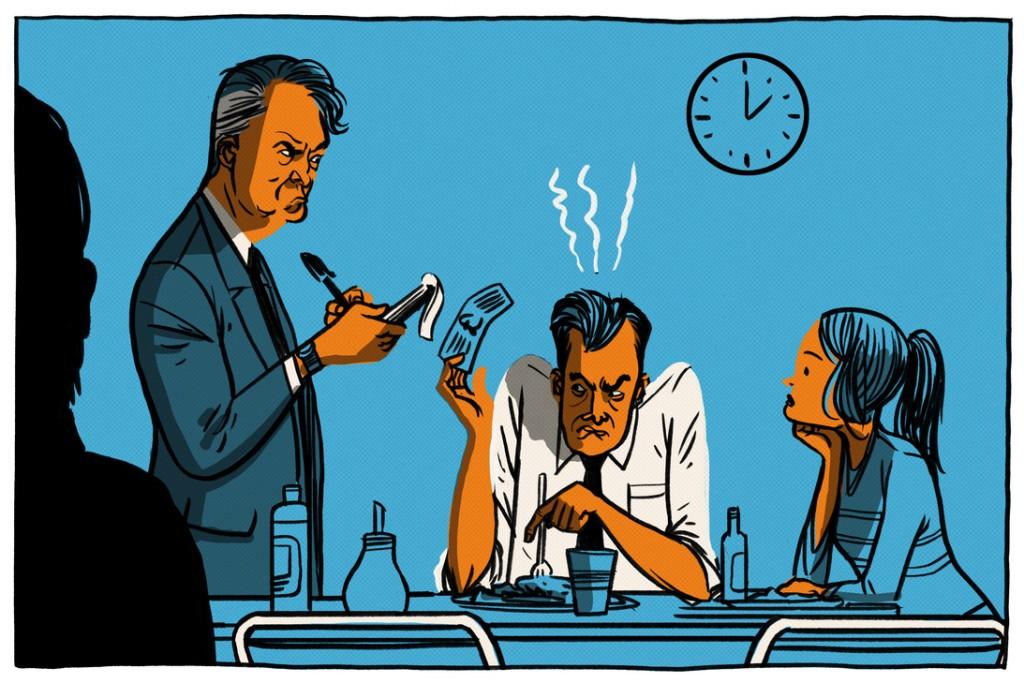 Louis van Gaal erteilt Geldstrafen an Spieler, weil sie zu spät zum Mittagessen erscheinen. © Viking